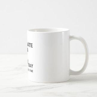 dia do pi caneca de café