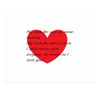 Dia dos namorados cartões postais