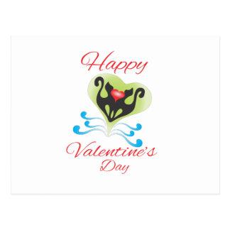 dia dos namorados cartão postal