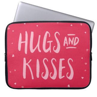 Dia dos namorados cor-de-rosa dos corações | dos capas para laptop