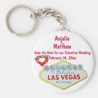 Dia dos namorados que Wedding Las Vegas Chaveiros