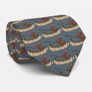 Dia dos pais da pesca dos alces gravata