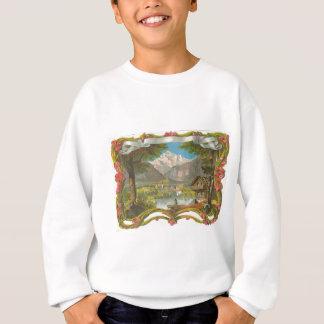 Dia dos pais idílico do campo do vale das camisetas