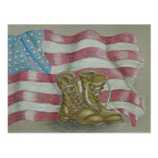 Dia dos Veteranos Cartão Postal