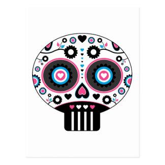 """Dia mexicano de """"do crânio inoperante Diâmetro de Cartão Postal"""