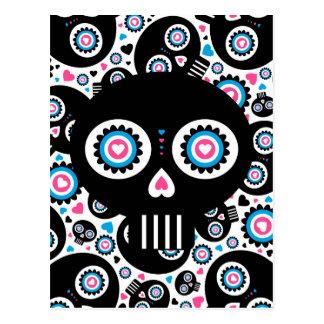 """Dia mexicano de """"do crânio inoperante Diâmetro de  Cartões Postais"""