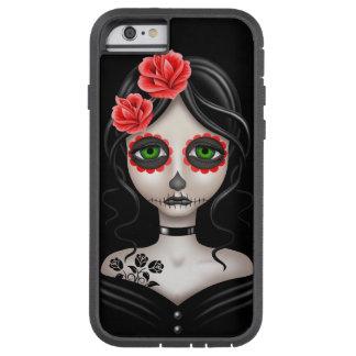 Dia triste da menina inoperante no preto capa tough xtreme para iPhone 6