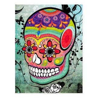 Dia urbano de Muerte do cartão ilustrado morto Cartão Postal