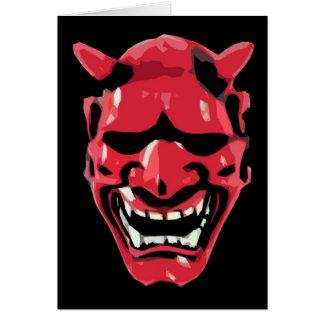 Diabo Cartão Comemorativo