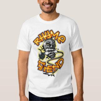 Diabo da rima camisetas