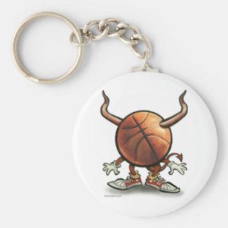Diabo do basquetebol chaveiro