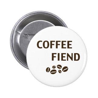 Diabo do café bóton redondo 5.08cm