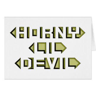 Diabo Horny de Lil Cartão