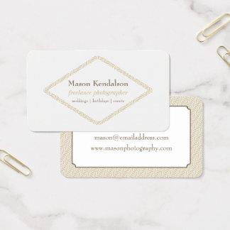 Diamante abstrato fotógrafo Freelance Cartão De Visitas