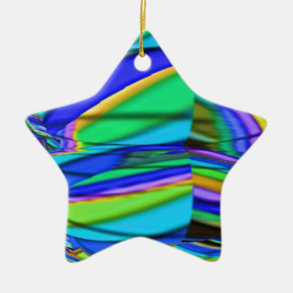 DIAMANTE azul: Arte gráfica ideal Ornamento De Cerâmica