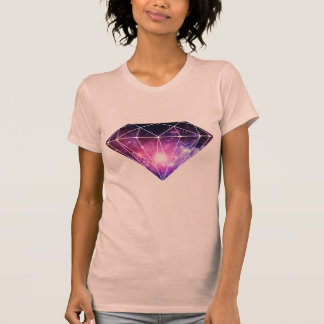 Diamante cósmico camiseta