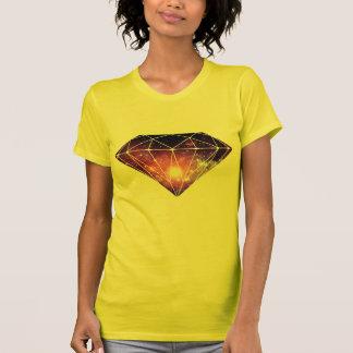 Diamante cósmico t-shirt