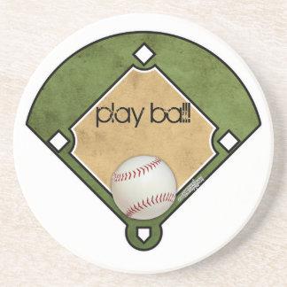 Diamante de basebol - porta copos