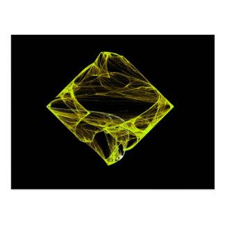 Diamante do topázio cartão postal