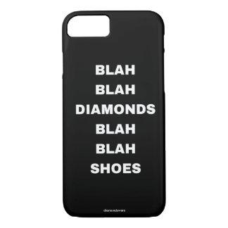 diamantes blás blás dos calçados capa iPhone 8/7