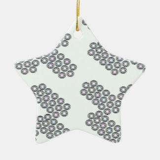 diamantes pequenos ornamento de cerâmica