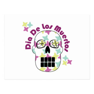 Diâmetro De Los Muertos Cartão Postal