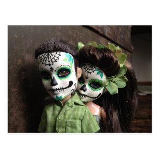 Diâmetro De Los Muertos Querido Cartão Postal