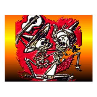Diâmetro de Los Muetos - dia do morto Cartão Postal