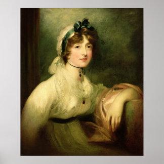 Diana Sturt, senhora mais atrasada Milner, 1800-05 Poster