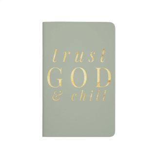 Diário Deus da confiança e jornal da religião do frio