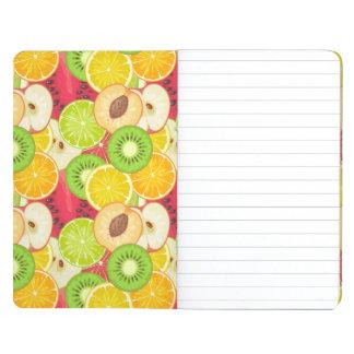 Diário Teste padrão colorido da fruta do divertimento