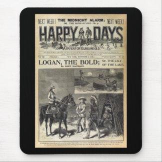 Dias felizes um papel para 1905 novo e velho mousepad