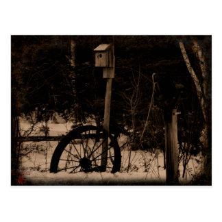 Dias idos perto cartão postal