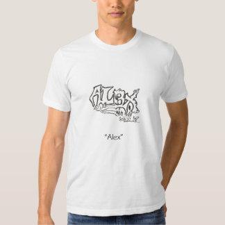 """Diga meu """"Alex conhecido """" Tshirts"""
