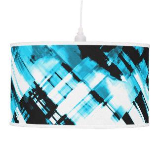 Digitalart G253 do abstrato do preto azul de Abajur De Teto