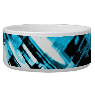 Digitalart quente G253 do abstrato do preto azul Tigela