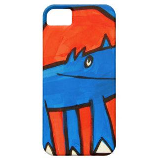 Dinossauro azul capa iPhone 5