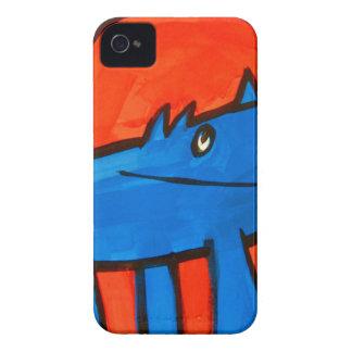 Dinossauro azul capas iPhone 4 Case-Mate