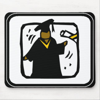 Diploma de recepção graduado (1) mouse pads