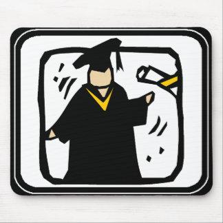 Diploma de recepção graduado (2) mouse pad