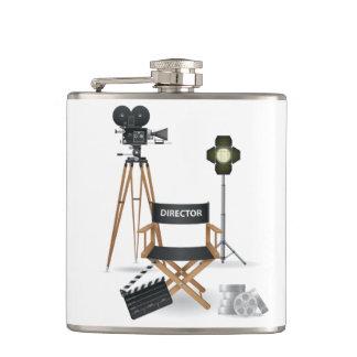 Diretor de filme garrafa ajustada cantil