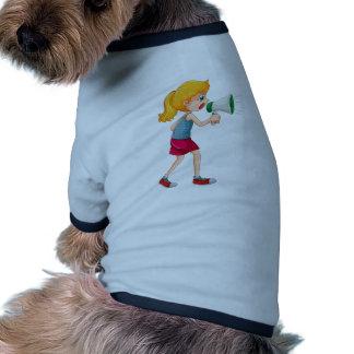 Discurso Camisa Ringer Para Cachorro