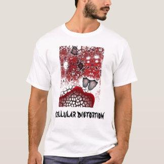 Distorção celular tshirt