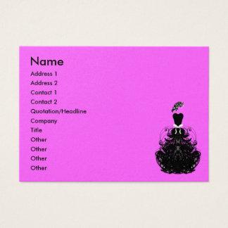 Diva da forma - personalizada - costume… - cartão de visitas