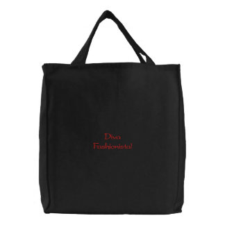 Diva Fashionista Embroidered Bag Embroidered Bag