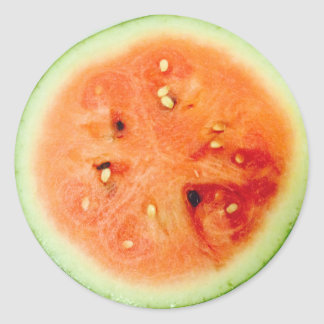 Divertimento 4Amelie da melancia de Scrummie Adesivo