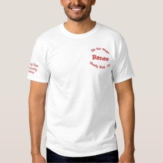 Divertimento bordado costume da camisa para sua