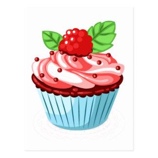 Divertimento do cupcake cartão postal