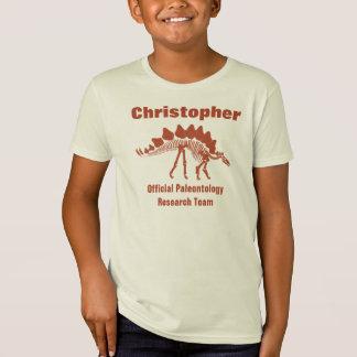 Divertimento do dinossauro da paleontologia tshirts