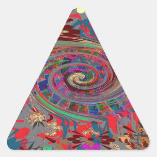 Divertimento do retorno dos ímãs dos botões das adesivo triangular